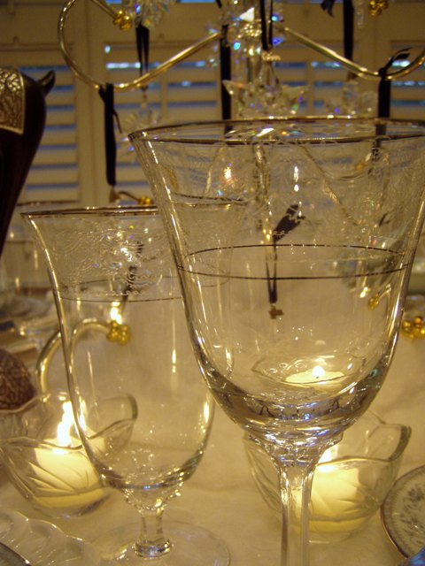 Lenox Fair Lady Crystal Stemware (Between Naps on the Porch)