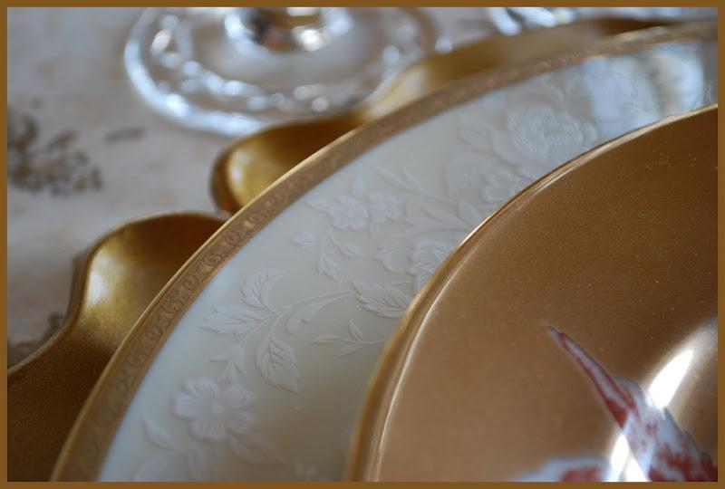 Romantic Valentine's Day Tablescape with Mikasa Antique Lace Dishware
