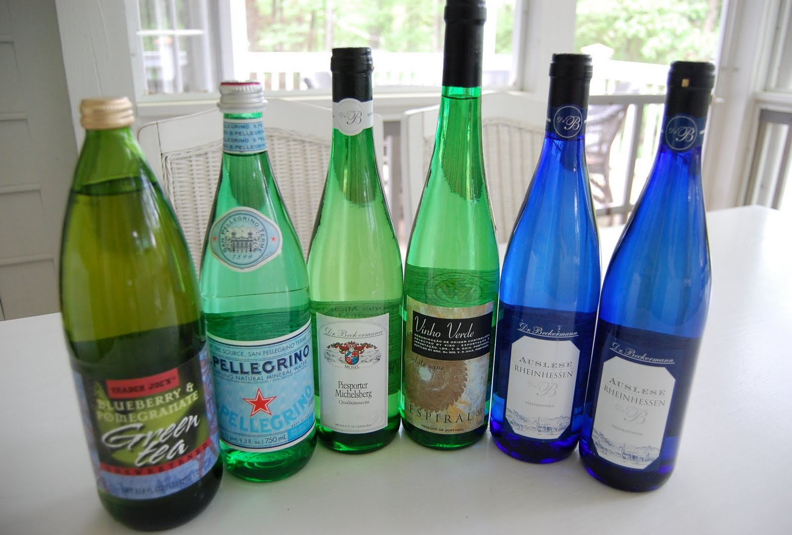 Bottle Tree Shopping at Trader Joe\'s – Between Naps on the Porch