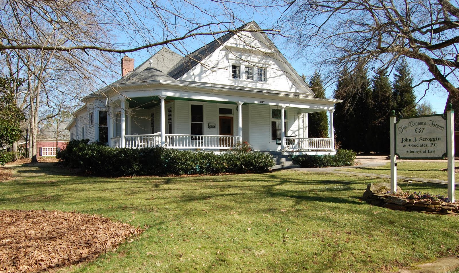 Historic Home Tour In Roswell Georgia