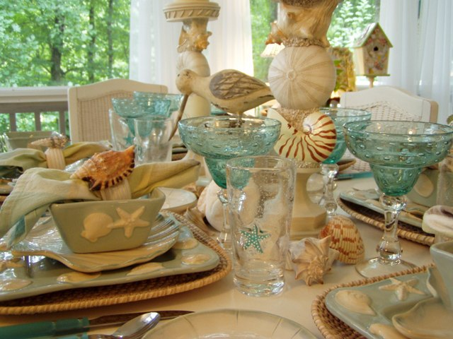 Beach Tablescape