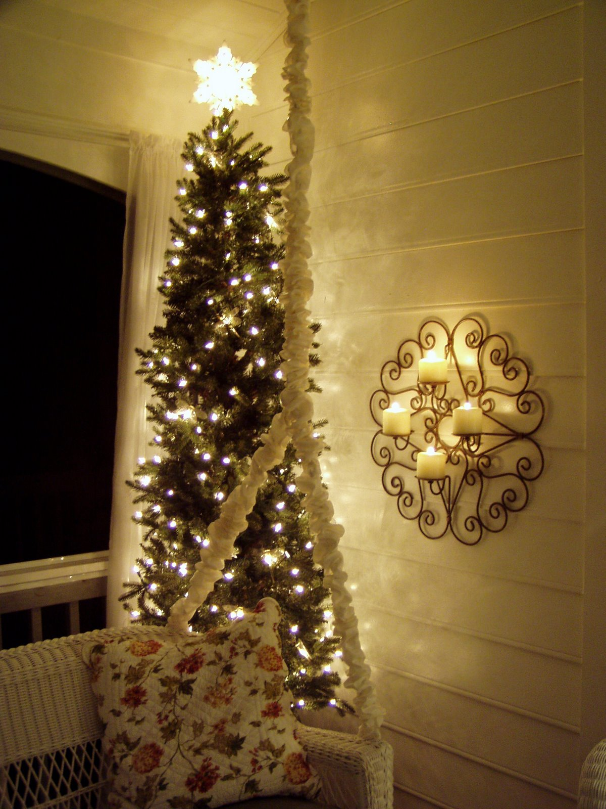 A Christmas Tree For The Porch