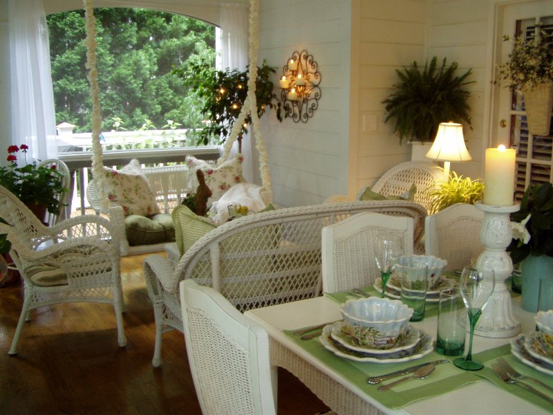 Add Curtains Or Sheers To A Porch