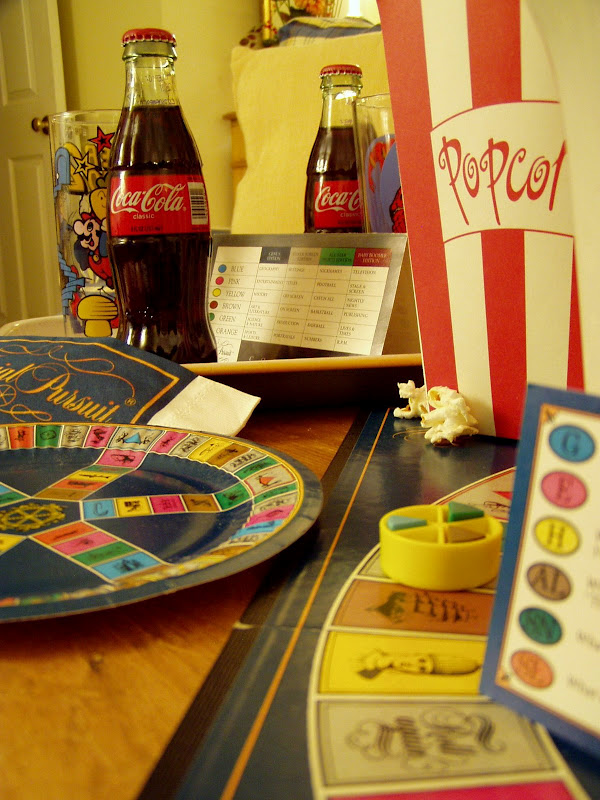 Trivial Pursuit Game Night Party