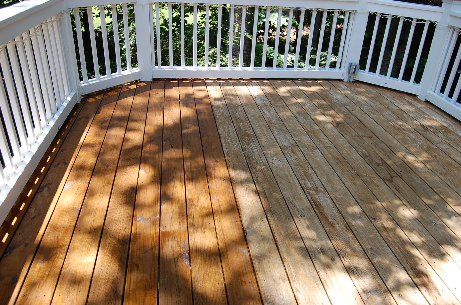 Cleaning and staining decks baanklon Images