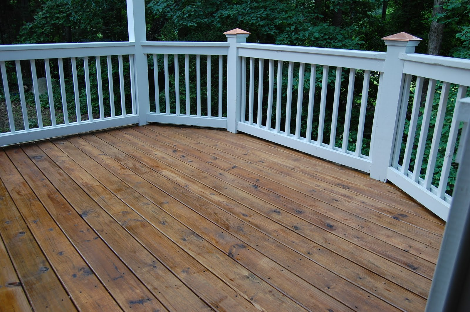 Cleaning And Staining Decks
