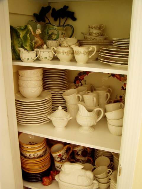 Creating And Building A Dish Or China Pantry
