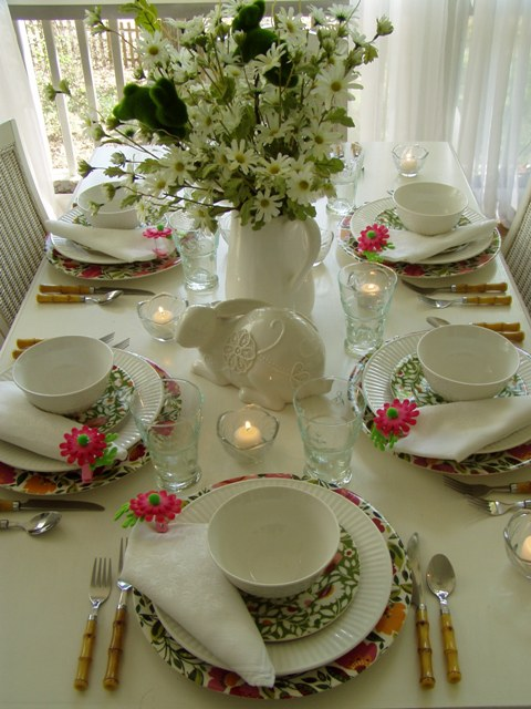 Easter Or Spring Table Setting With Kim Parker Emma 39 S