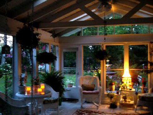 Four Season Porch Sunroom Becomes Screened In Porch With