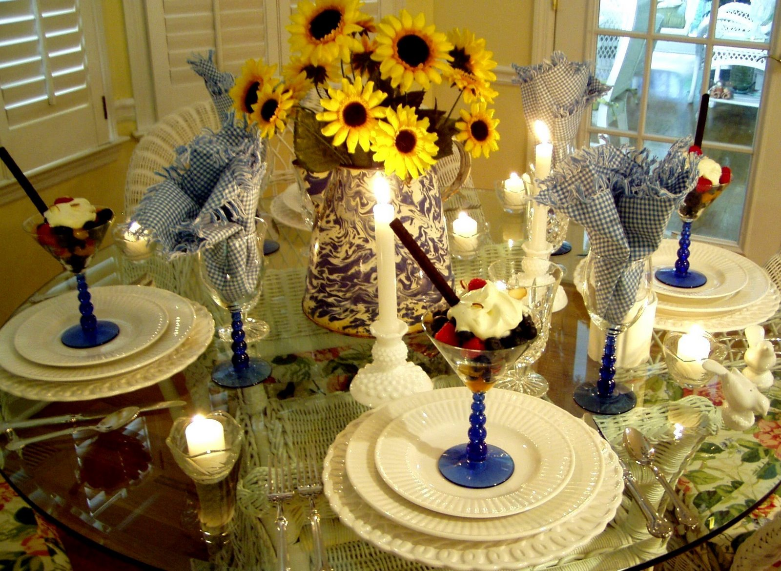 Springtime Table Setting