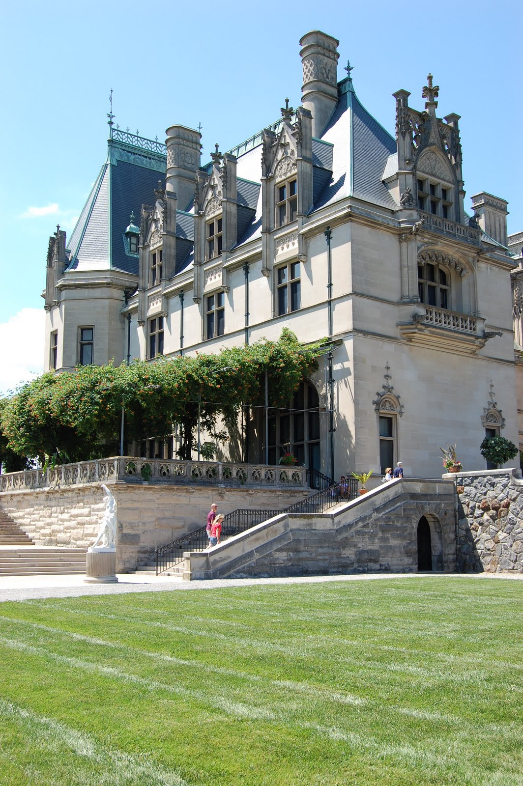 House With Pools Biltmore Estate