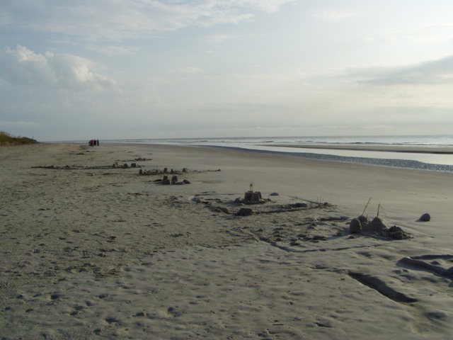 Sandcastles on Jekyll Island