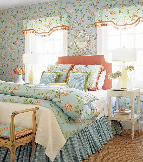 Blue Thibaut Wallpaper