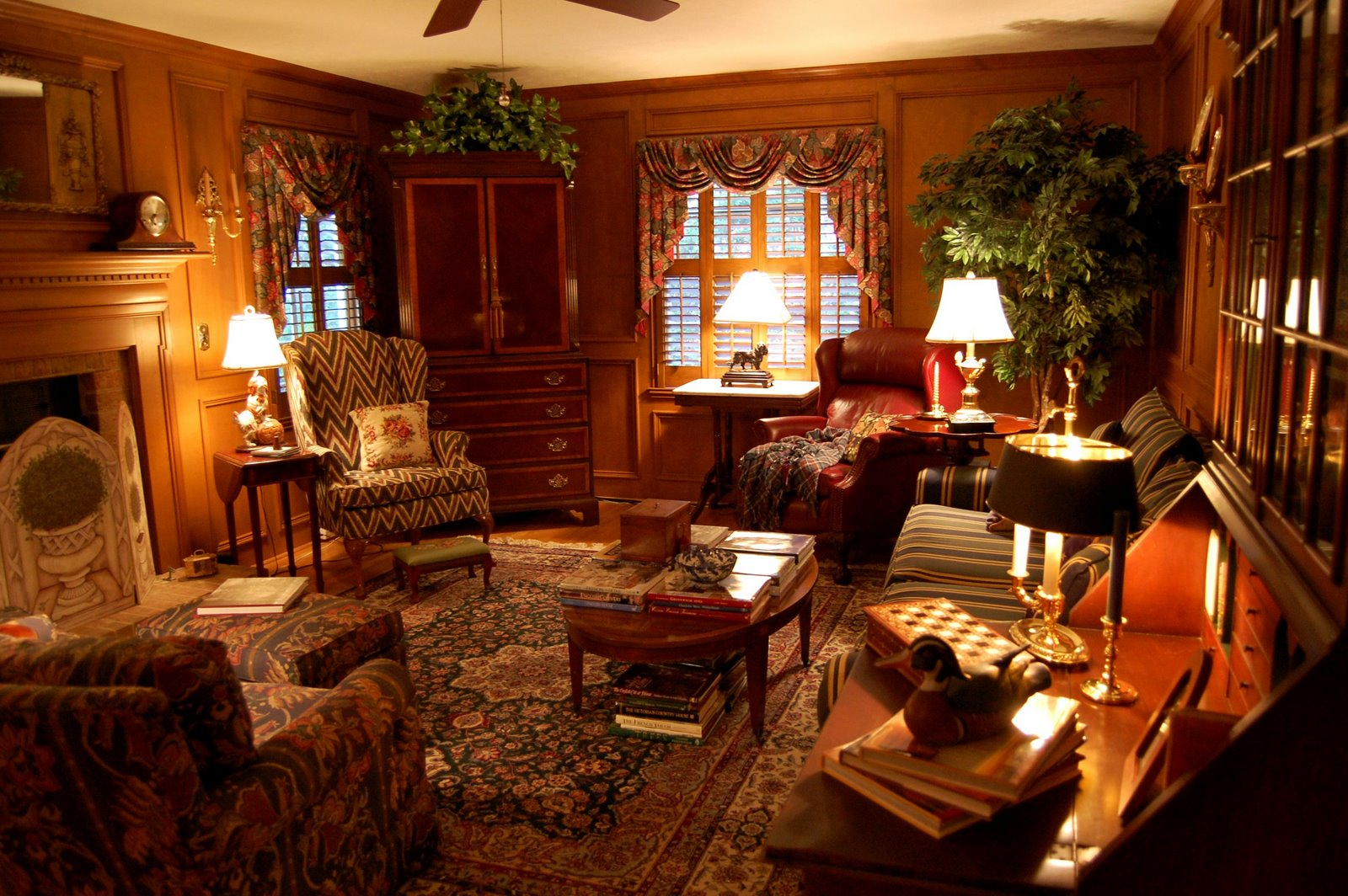 Hunting lodge interior - Home Decorating