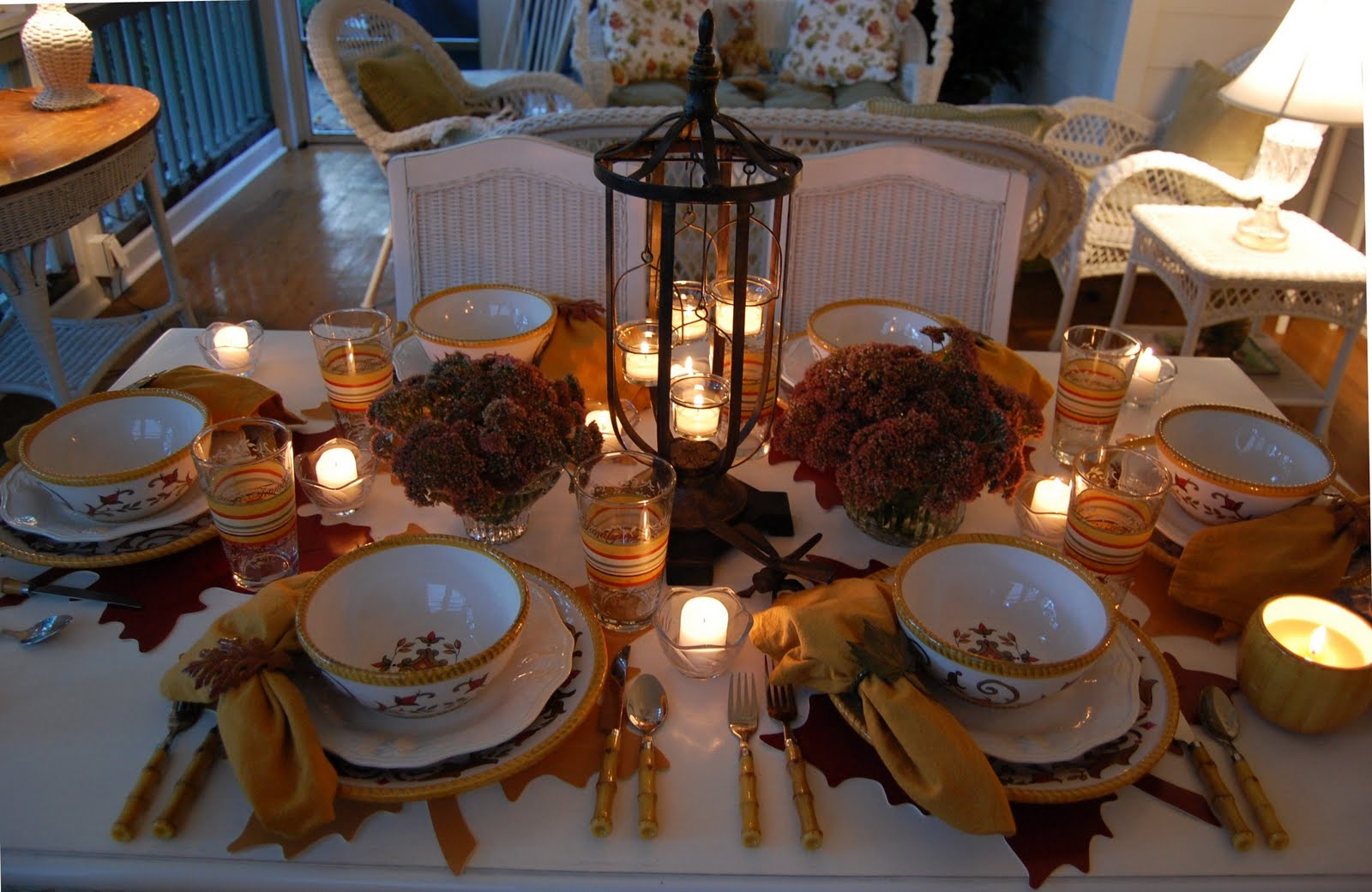Fall Table Scapes Fall Tablescape To Autumn