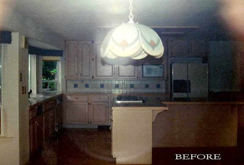 Kitchen Renovation: Before Photo