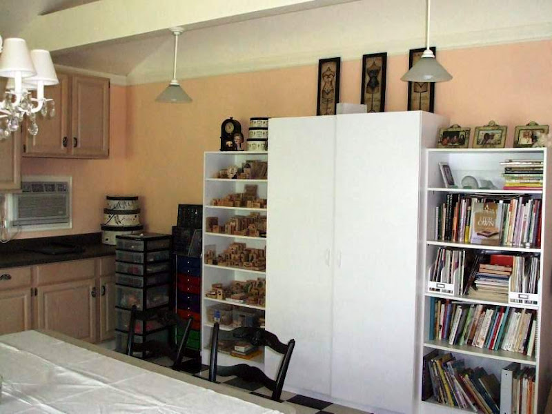 Craft Room Design with Lots of Storage
