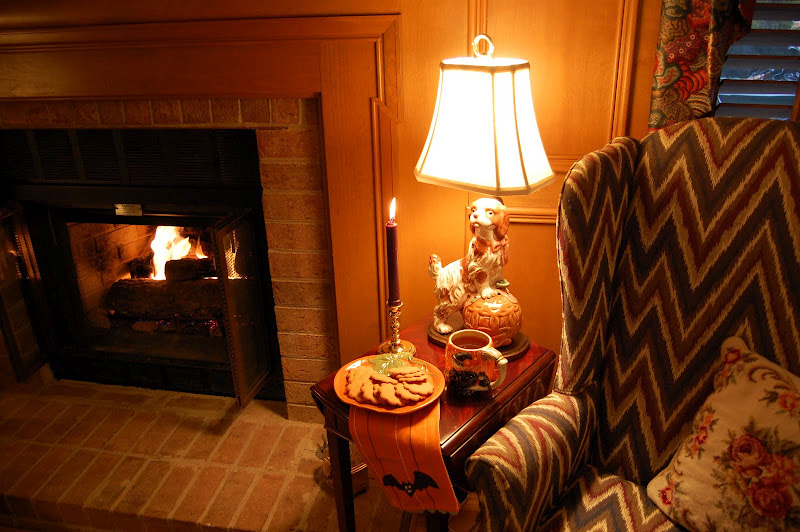 Hot Mulled Cider by the Fire