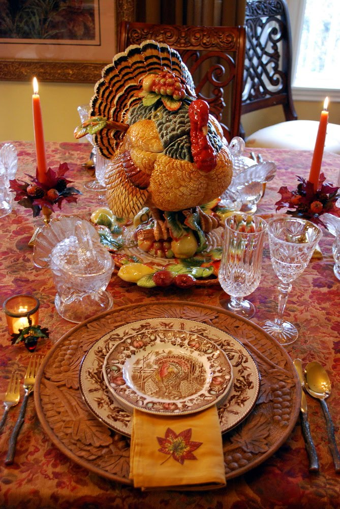 Decorating For Autumn And A Thanksgiving Tablescape