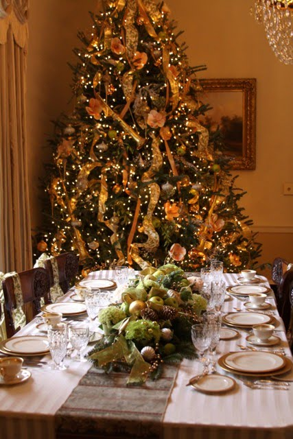 Christmas Dinner at the Georgia Governor's Mansion
