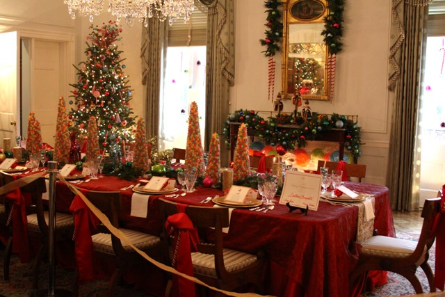 Christmas Dinner At The Georgia Governor S Mansion