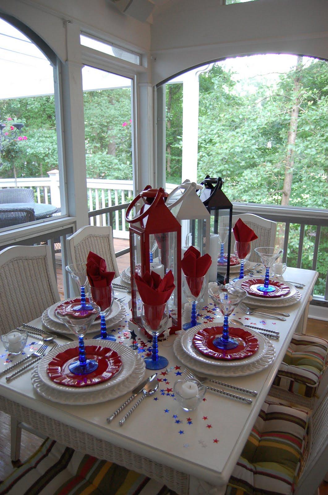 4th Of July Porch Decor