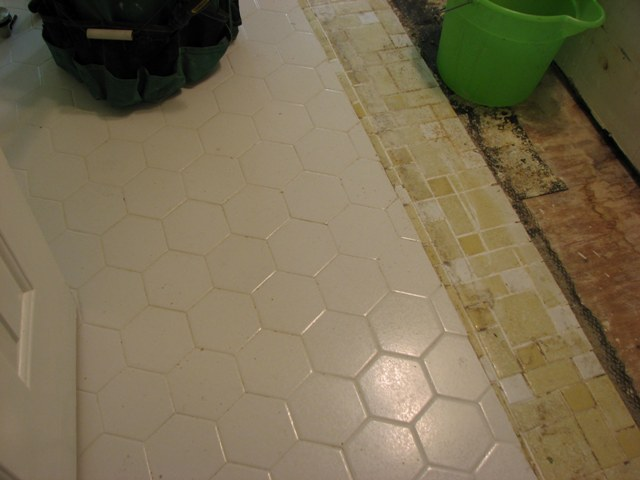 Bath Floor Renovation