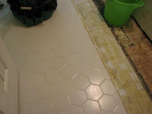 Bath Floor Renovation