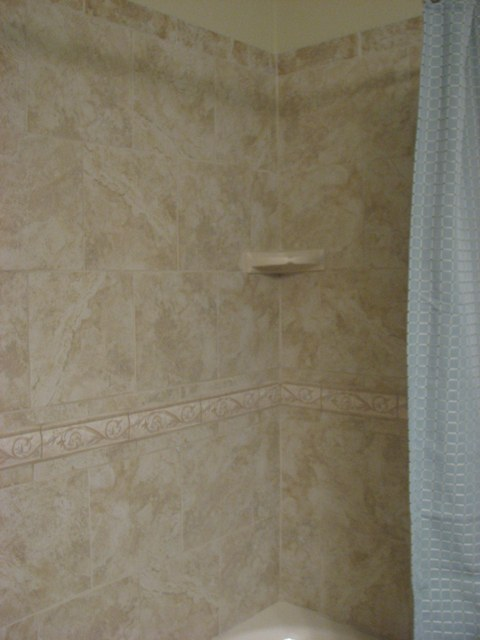 Shower and tub renovation