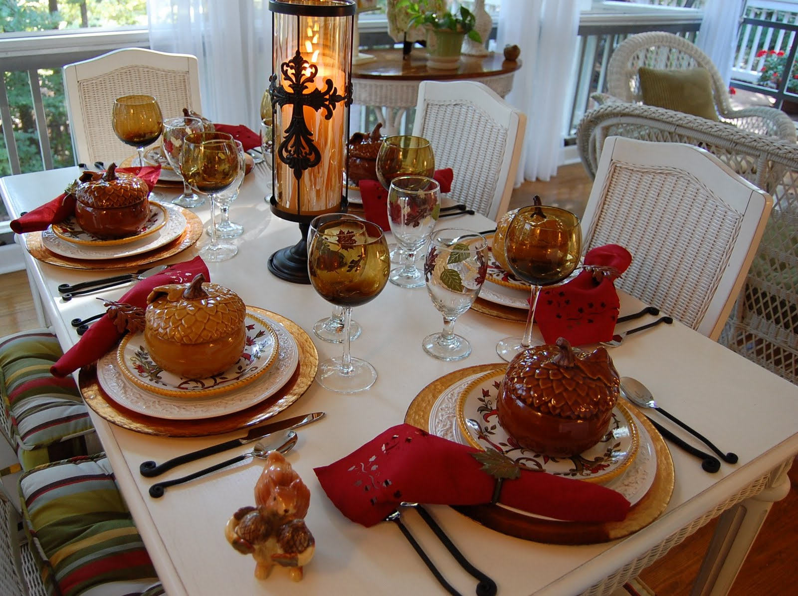 A Tablescape To Celebrate Fall