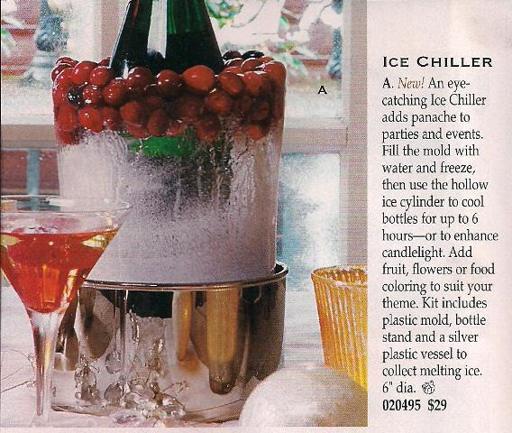 Make an Ice Chiller for Wine or Champagne