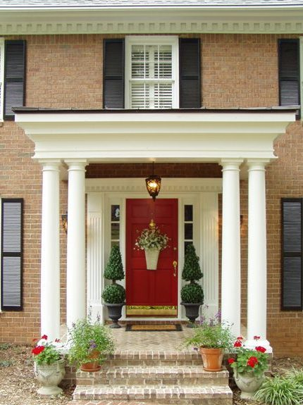 Pottery barn christmas garland knock off make your own for Home columns