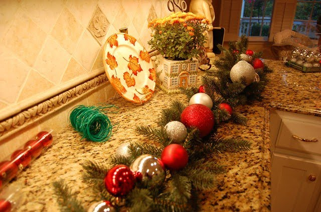 Make this Pottery Barn Inspired Christmas Garland