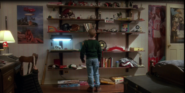 Buzz's Bedroom in Home Alone Movie