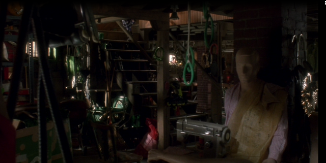 Basement in Home Alone movie house