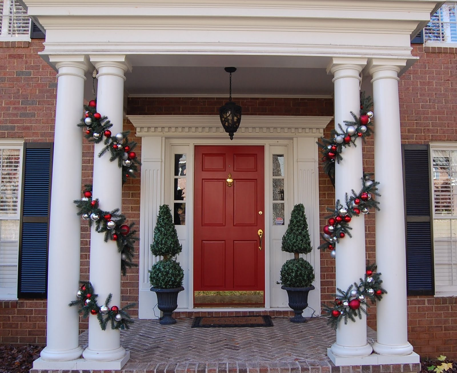 decorating for christmas with magnolia and pine - Christmas Decorating On A Dime