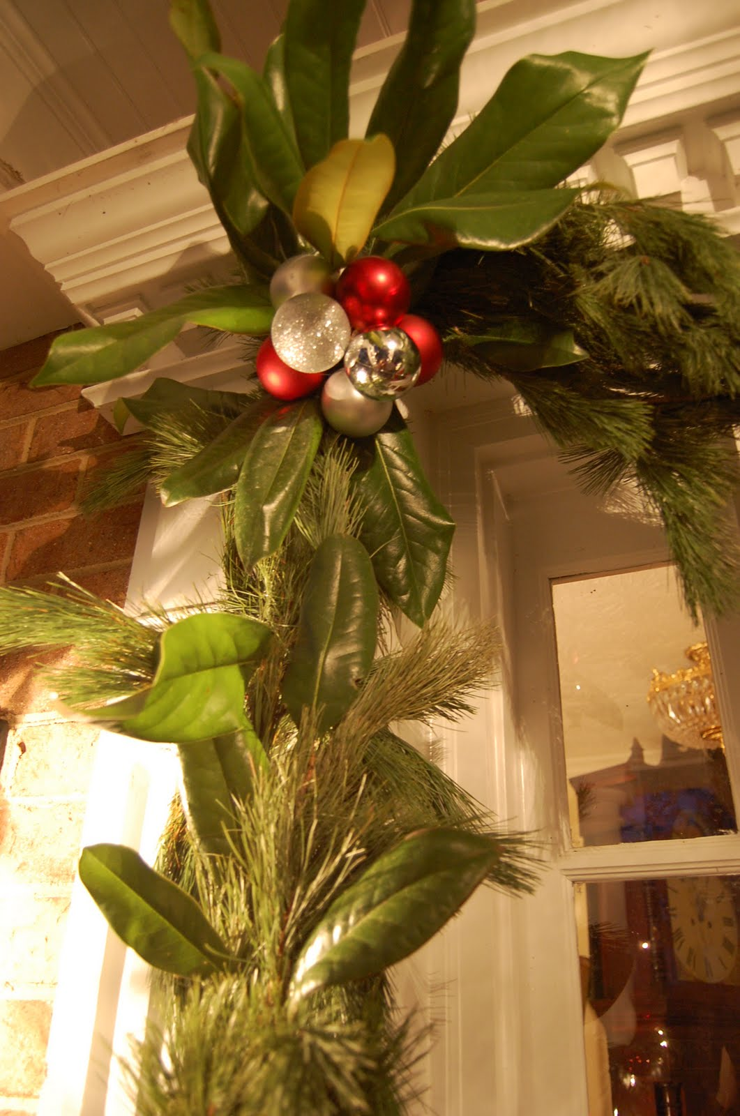 Decorating For Christmas With Magnolia And Pine