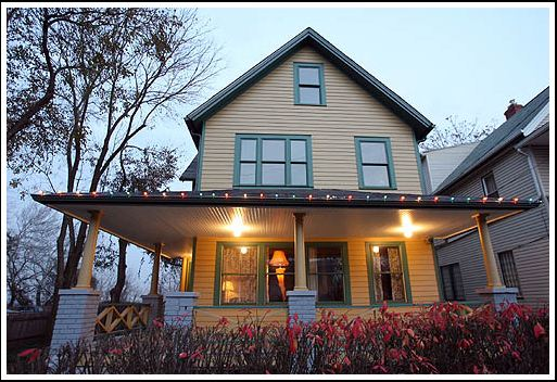 Tour the house in the movie, A Christmas Story