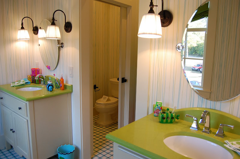 Child's Bath in Southern Living Idea House