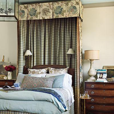 Bedroom in Southern Living Idea House in Senoia Georgia