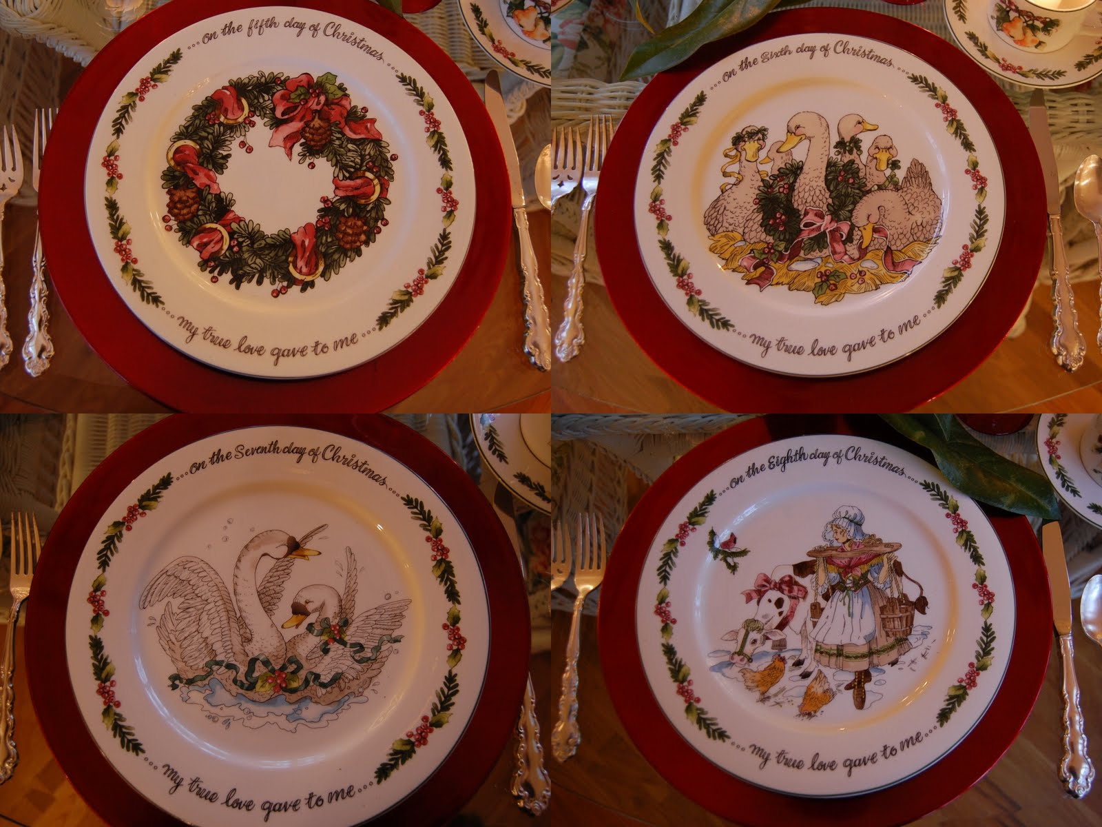 12 Days Of Christmas Table Decorating Ideas  from betweennapsontheporch.net
