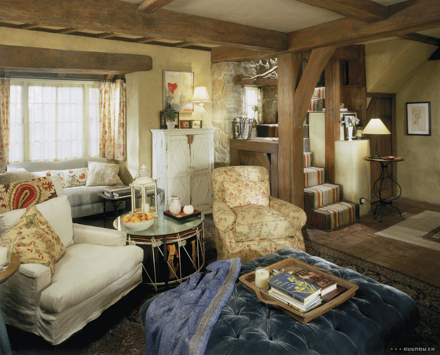 The Holiday, Movie: Tour Rosehill Cottage