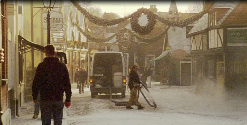 Godalming village scenes in the movie, The Holiday