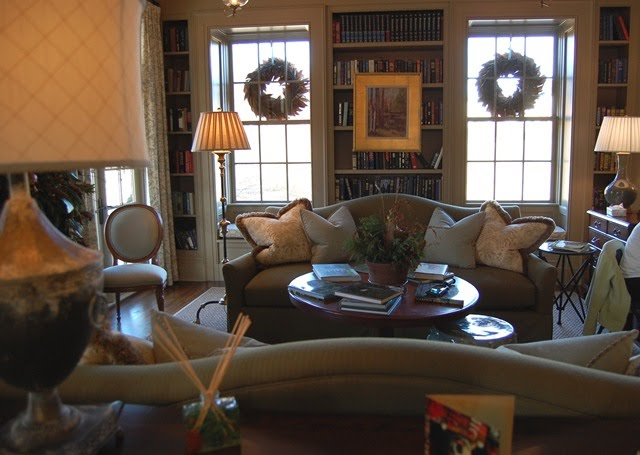 Southern Living Idea House: Entertainment Room, Sewing, Craft Room ...