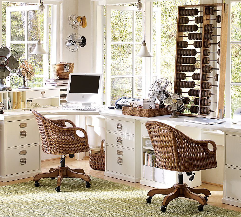 Pottery barn office furniture 2 - Pottery Barn Office Furniture 2 4