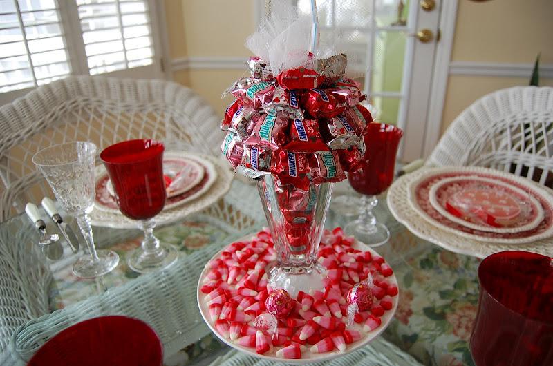 Candy Bar Sundae Craft: Gift or Centerpiece